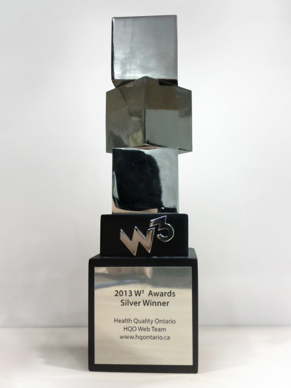 Silver 2013 W³ Award
